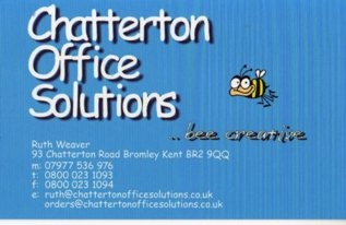 Rith Weavers business card